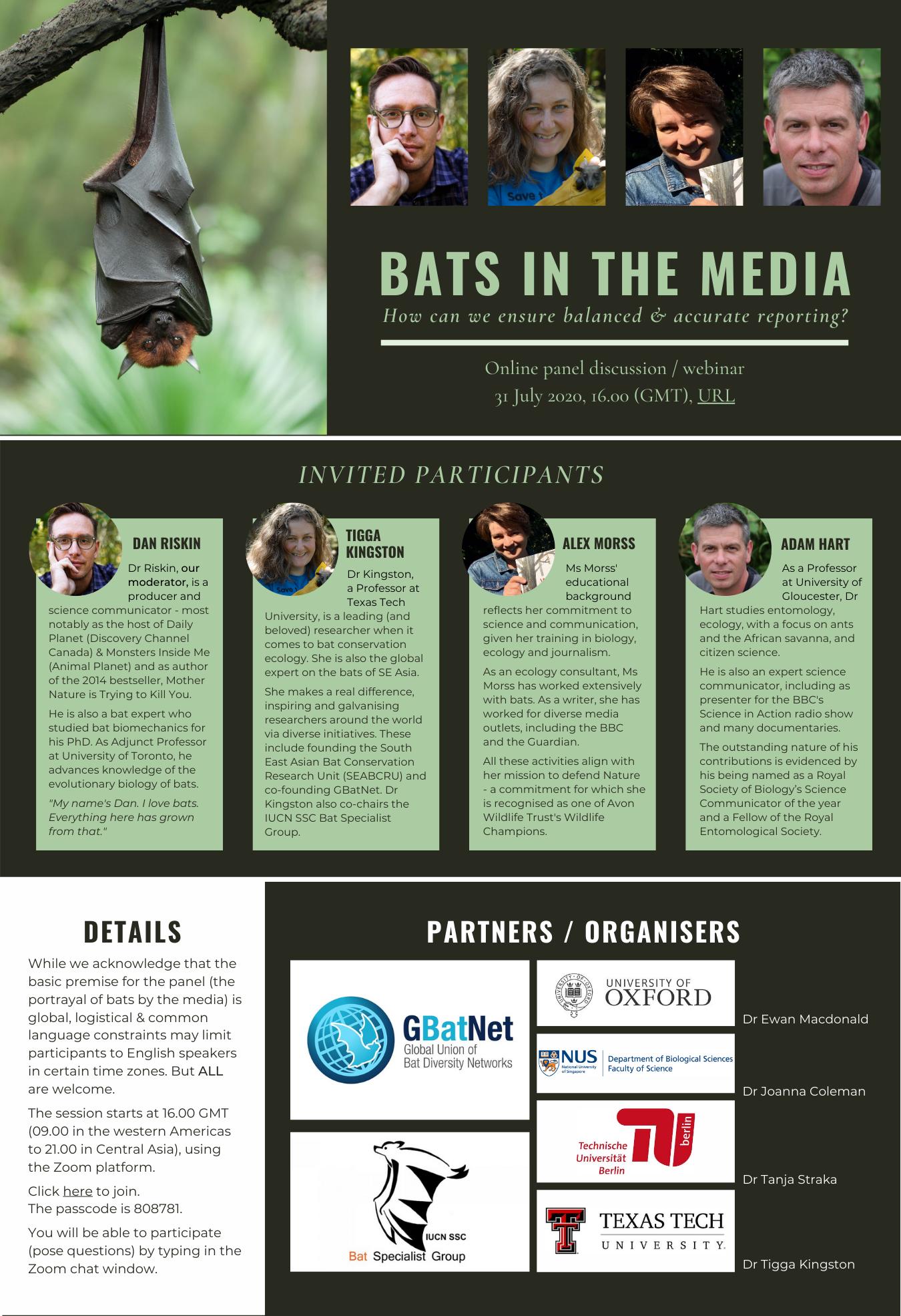 Bats in the Media (July 2020)